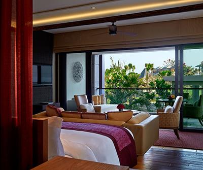 The Sawangan Junior Suite-King-Centered Bedroom 400