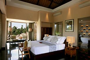 Presidential Villa Rama, Master Bed Room 204