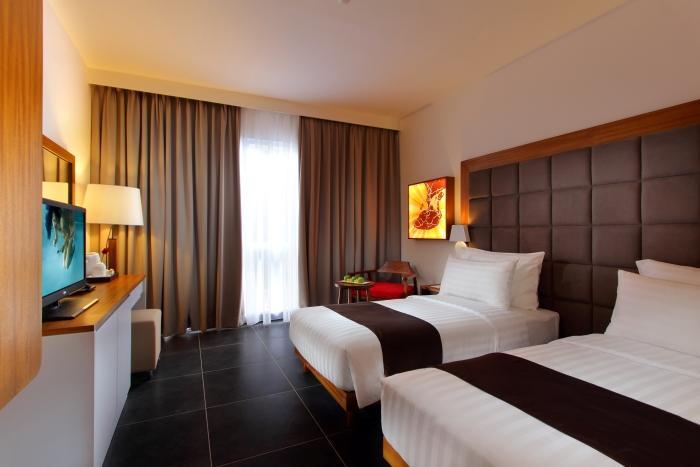 ベッドが2つのツインタイプのお部屋一例