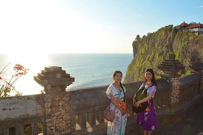 バリ島最南端、海の神様が祀られているというウルワツ寺院