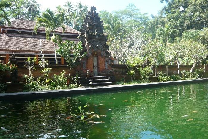 ティルタエンプルの池