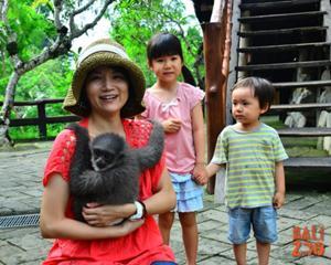 動物と触れ合う!楽しい体験。