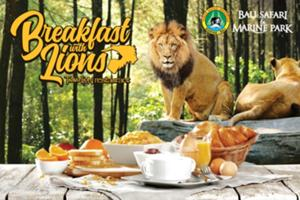 ライオンレストランにて朝食