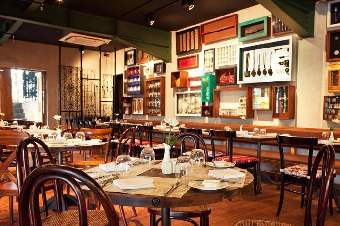 フォンタナホテル内のレストラン「ポルタベラ」