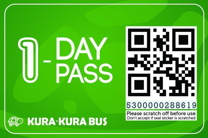 1日間バス乗り放題チケット