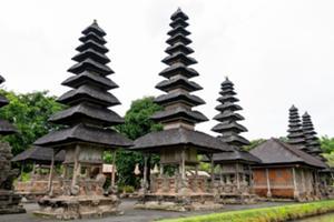 世界遺産に認定されたタマンアユン寺院