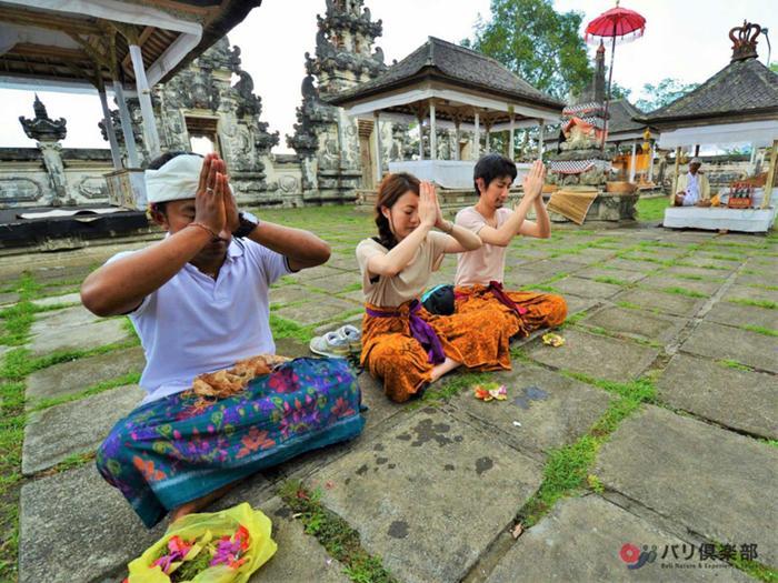 ランプヤン寺院見学&参拝体験
