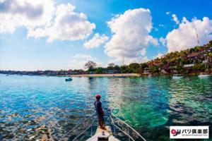 美ら海、レンボンガン島