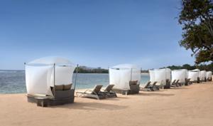 ヌサドゥアのオンザビーチの大型リゾート、ウエスティン