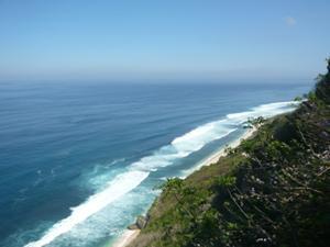 ブルガリでは、バリ島の最南端インド洋の絶景が広がります。