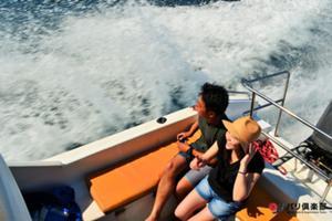 レンボンガン島へ出発