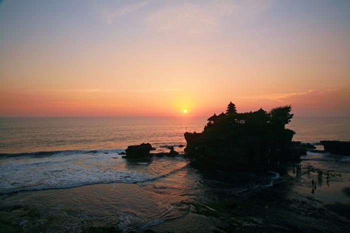 寺院には海の神が祀られています。