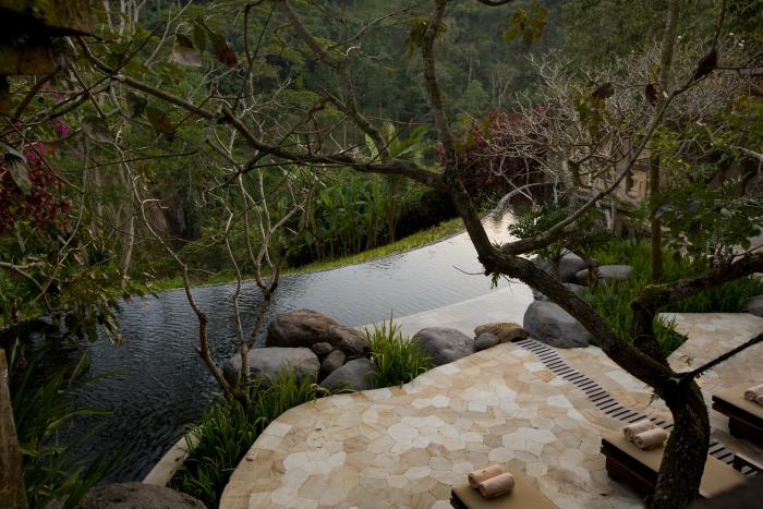 スパ ラウンジ&ガーデンのプール