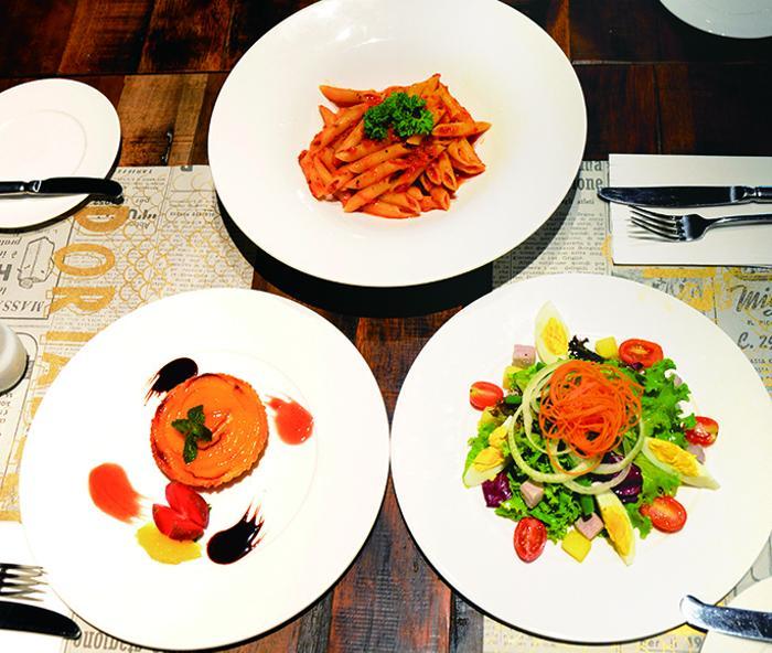 本格イタリアンの3コース料理