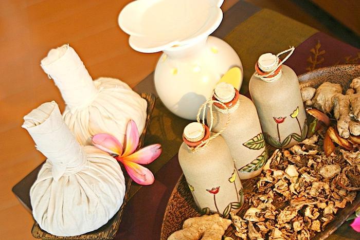 バリの豊かな自然に恵まれたハーブ(薬草)