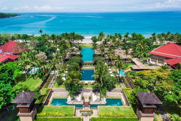 バリの人気リゾートホテル、ジンバランのインターコンチネンタルホテル
