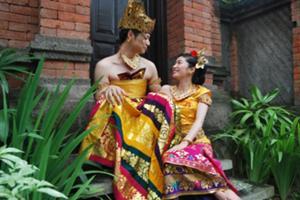 バリ民族衣装撮影