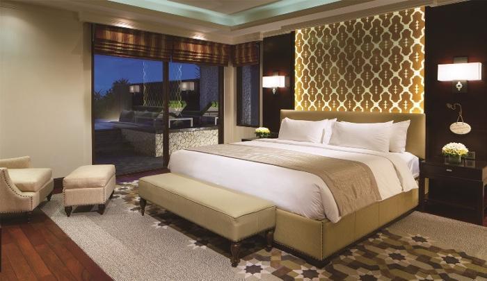 1ベッドルームのお部屋一例。