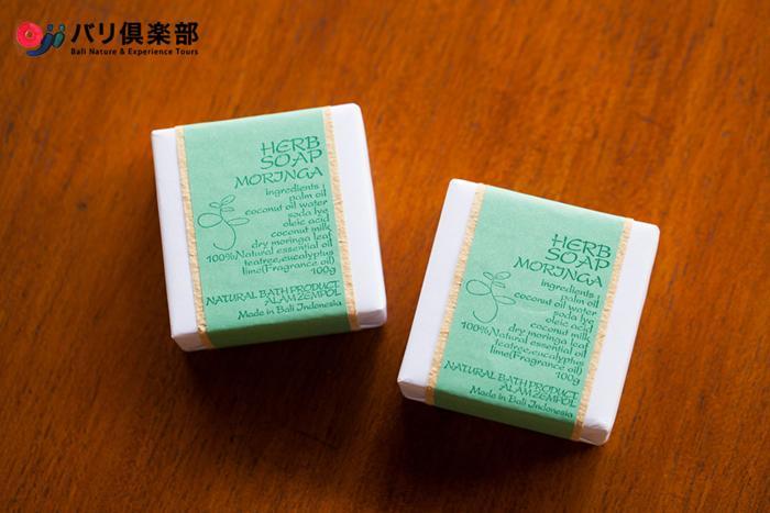 オリジナルのモリンガ石鹸プレゼント付き!!